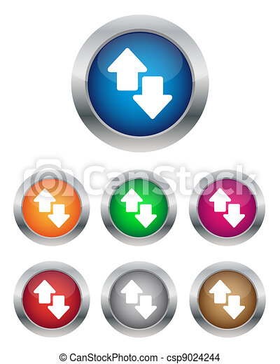 Data transfer buttons - csp9024244