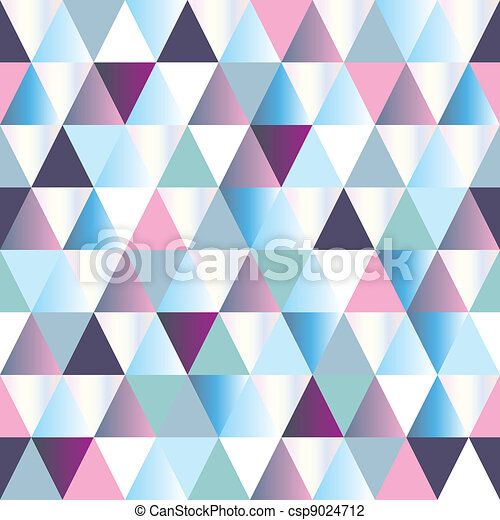 diamonds seamless triangle abstract pattern - csp9024712