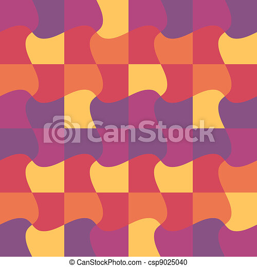 vector puzzle pattern, print, background, wallpaper, swatch - csp9025040