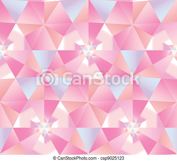 abstract diamond seamless triangle background. - csp9025123