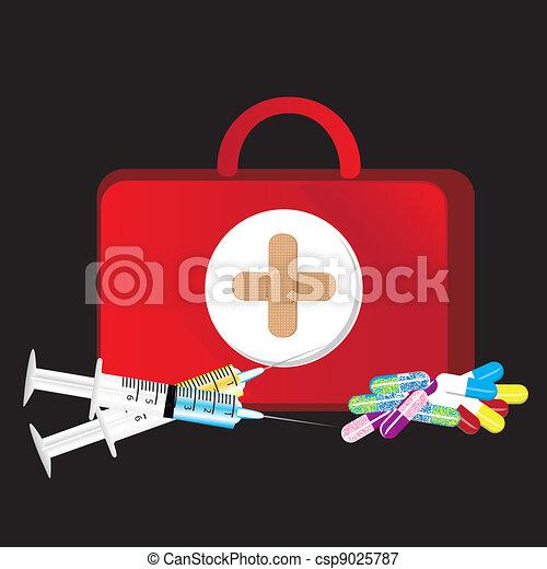 firts aid kit - csp9025787