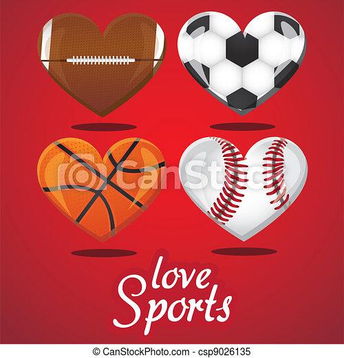 i love sports - csp9026135