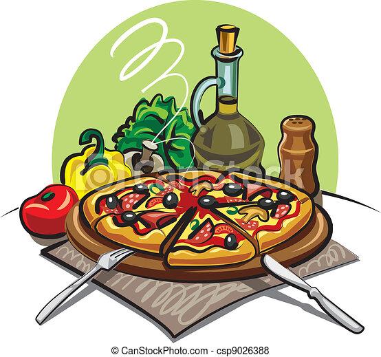 pizza - csp9026388