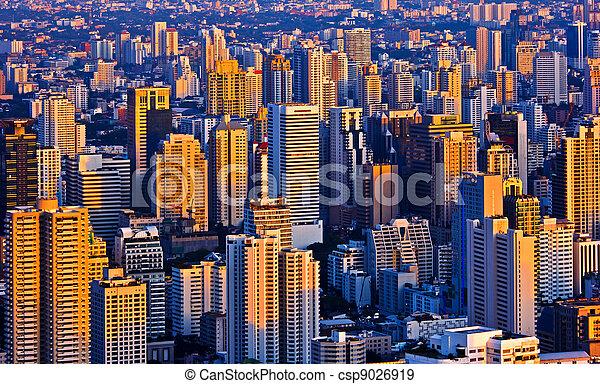 evening Bangkok Thailand - csp9026919