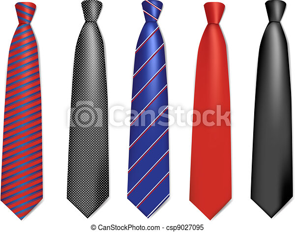 Neck ties collection. - csp9027095