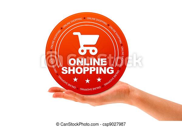 Online Shopping - csp9027987