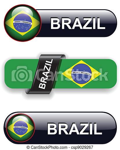 Brazil icons - csp9029267