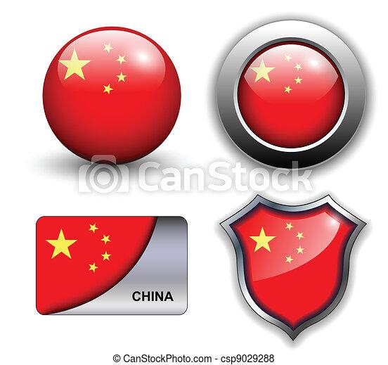 China icons - csp9029288