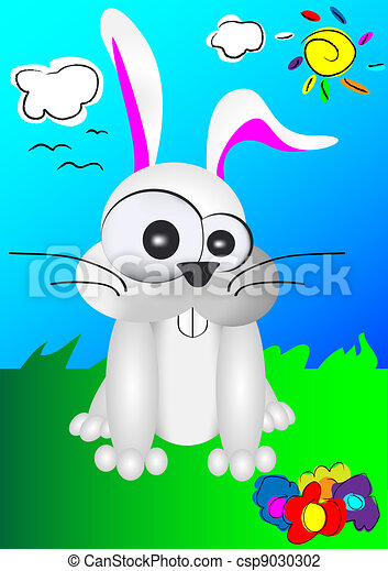 easter bunny - csp9030302