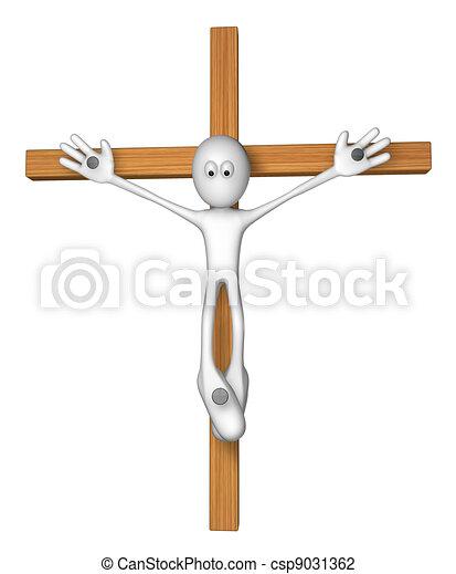 crucifixion - csp9031362