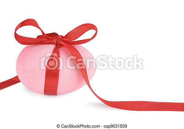 Pink Easter egg - csp9031839