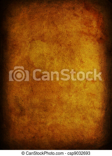Stained old ancient grunge paper - csp9032693