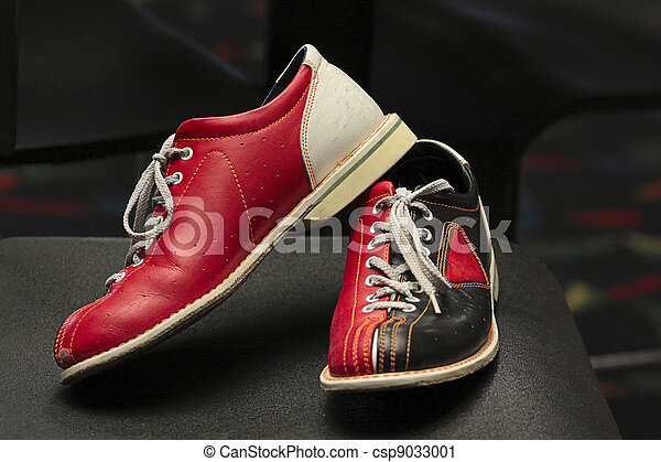 Bowling shoes. - csp9033001
