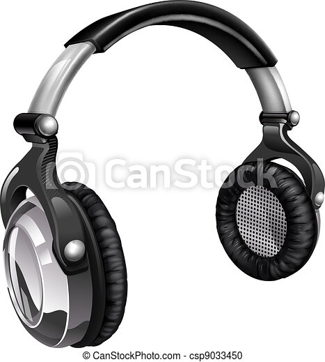 Big cool music headphones - csp9033450