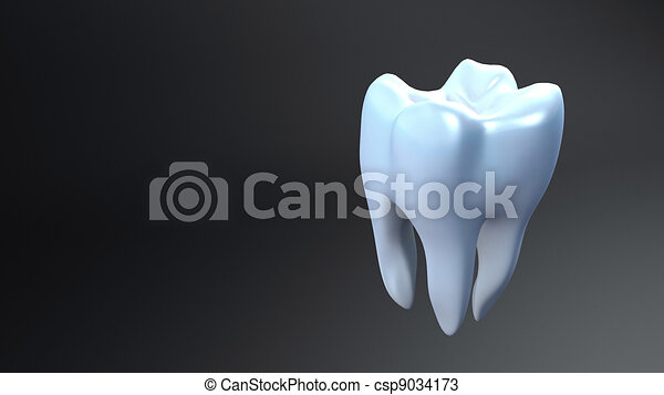 White Teeth Black Background Teeth Black Background