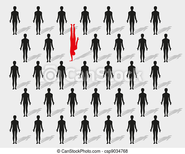 Как выделить одного человека на групповом
