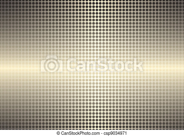 Golden spotted shining background - csp9034971