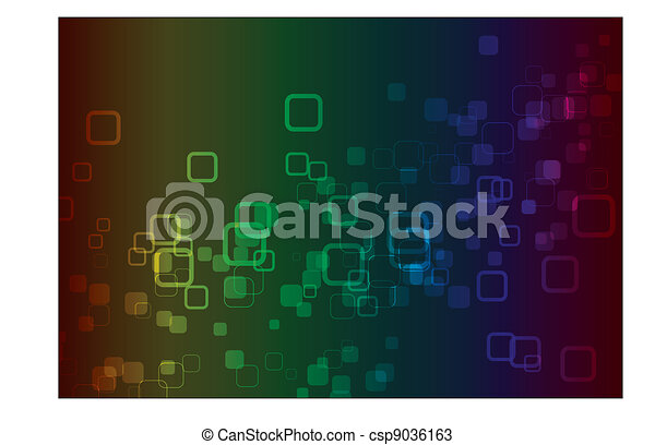 Color Spectrum Abstract Background  - csp9036163