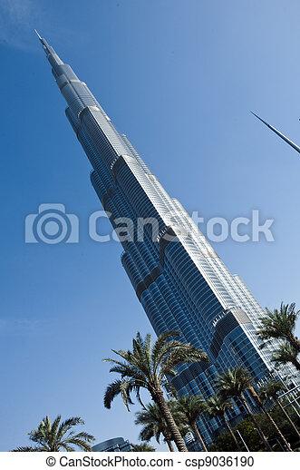 Burj Khalifa, Dubai - csp9036190