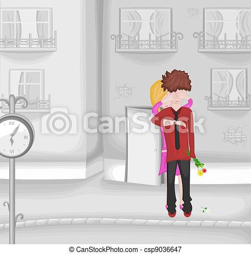 Romantic date - csp9036647