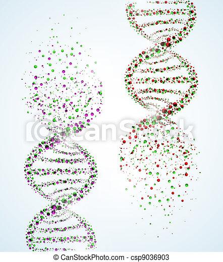 DNA molecule - csp9036903