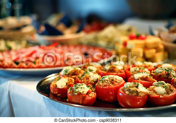 alimento,  catering - csp9038311