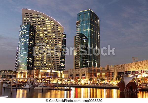 Festival City in Dubai - csp9038330