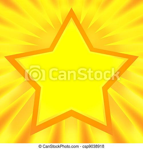 Shining Star - csp9038918