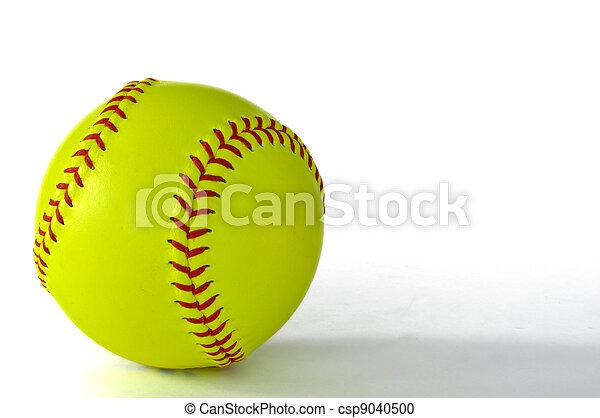 Yellow Softball Image Yellow Softball Yellow