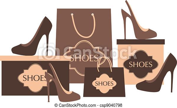 shop, Sko - csp9040798