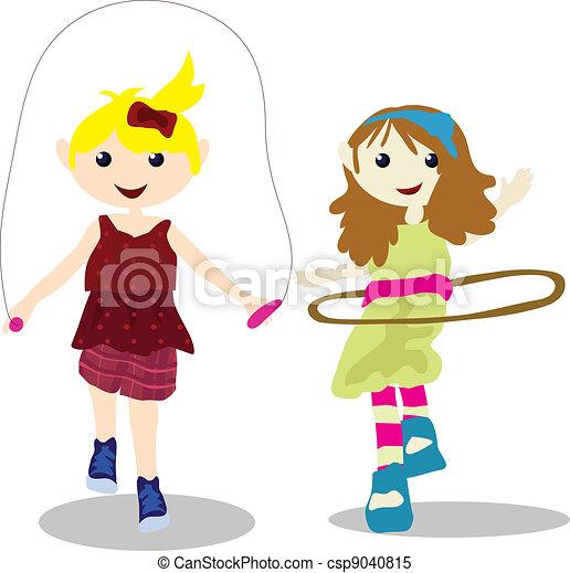 cartoon children activity - csp9040815