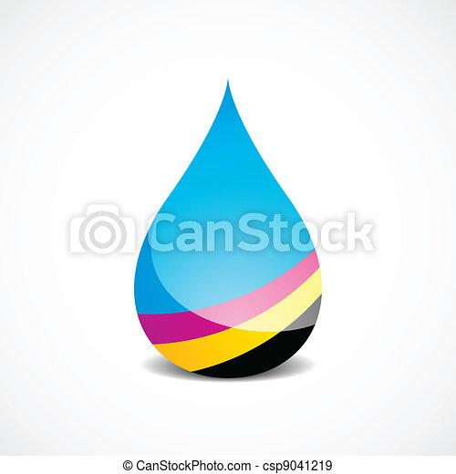 Offset Ink Drop - csp9041219