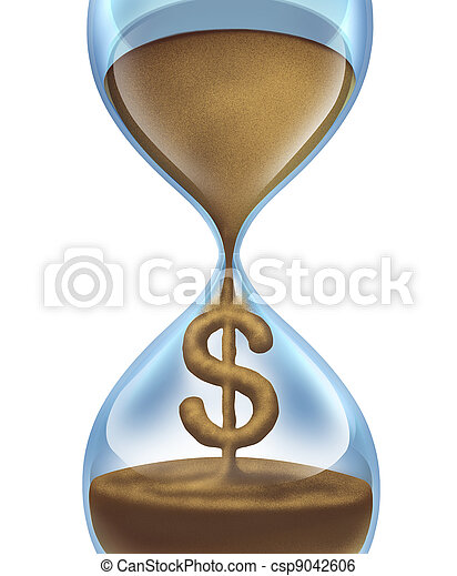 Time Is Money - csp9042606