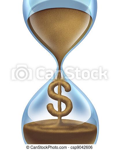 Time Is Money - csp9042606