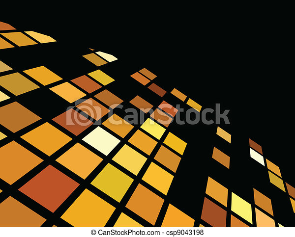 the vector golden abstract background - csp9043198