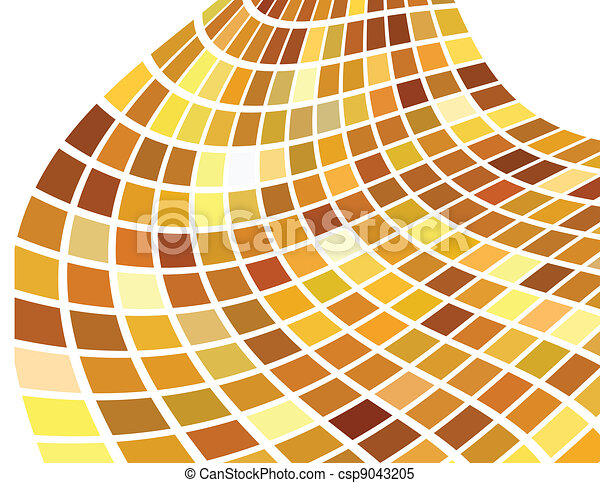 the vector golden abstract background - csp9043205