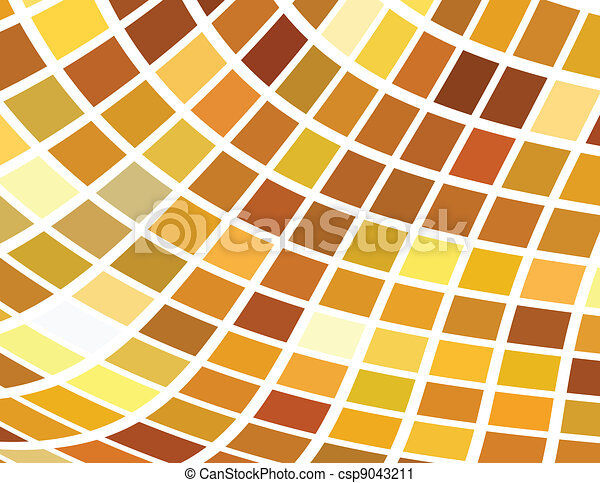 the vector golden abstract background - csp9043211