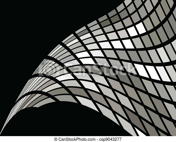 the vector silver abstract background - csp9043277