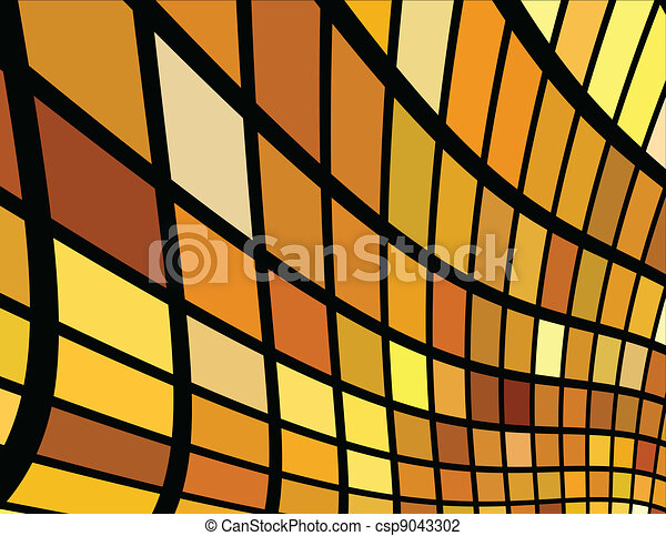 the vector golden abstract background - csp9043302