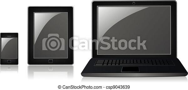 Modern electronics - csp9043639