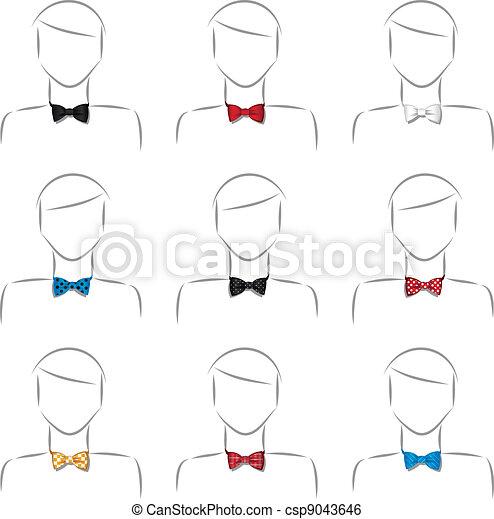 Set bow tie - csp9043646