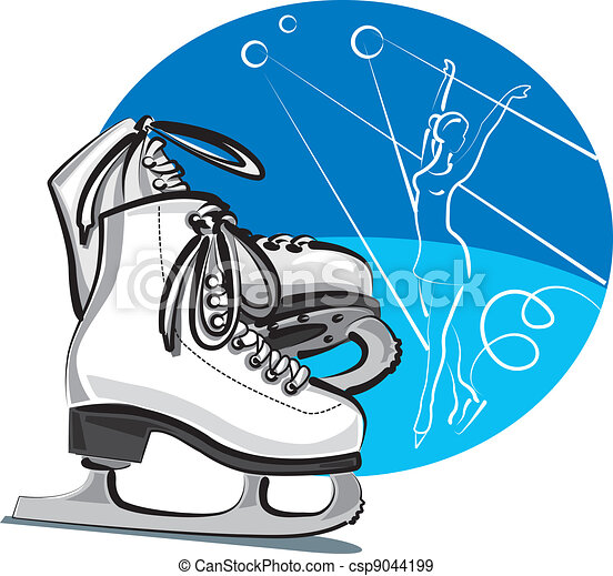 figure skates - csp9044199