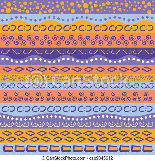 Colorful stripe pattern - csp9045612