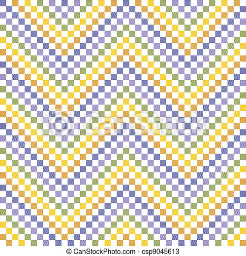 Colorful zigzag pattern - csp9045613