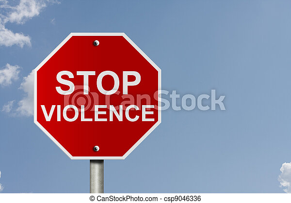 Stopping Violence - csp9046336