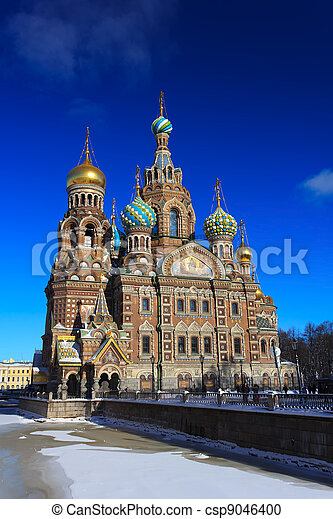 Church of the Savior on Blood - csp9046400