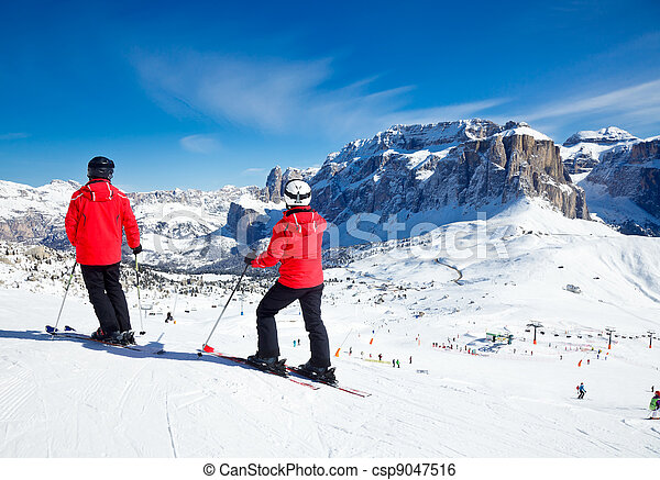 Ski Resort Area - csp9047516