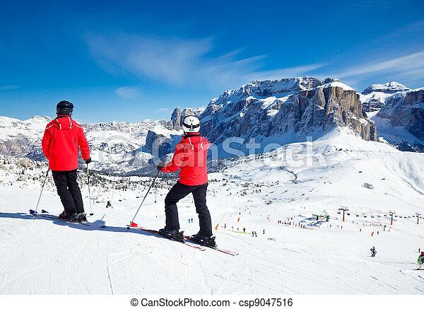 Ski Resort Area - csp9047516
