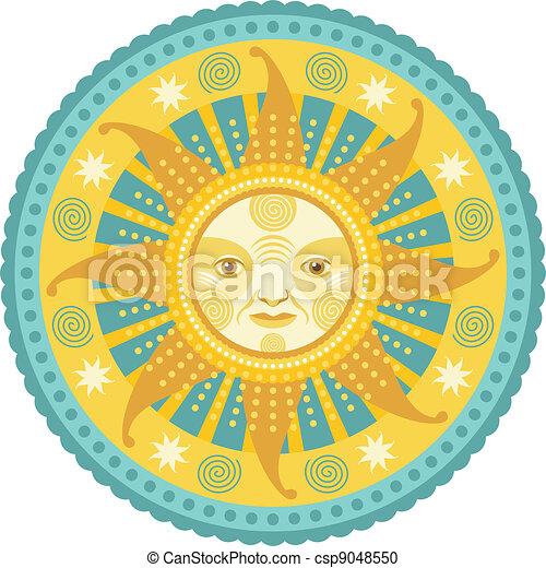 Daylight Mandala - csp9048550