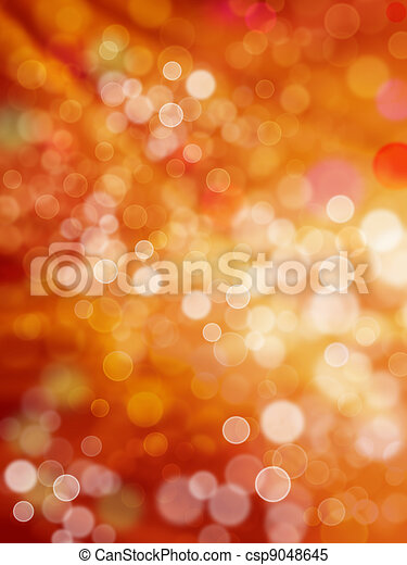 Patches and rays of light of red and yellow colors as holiday background - csp9048645